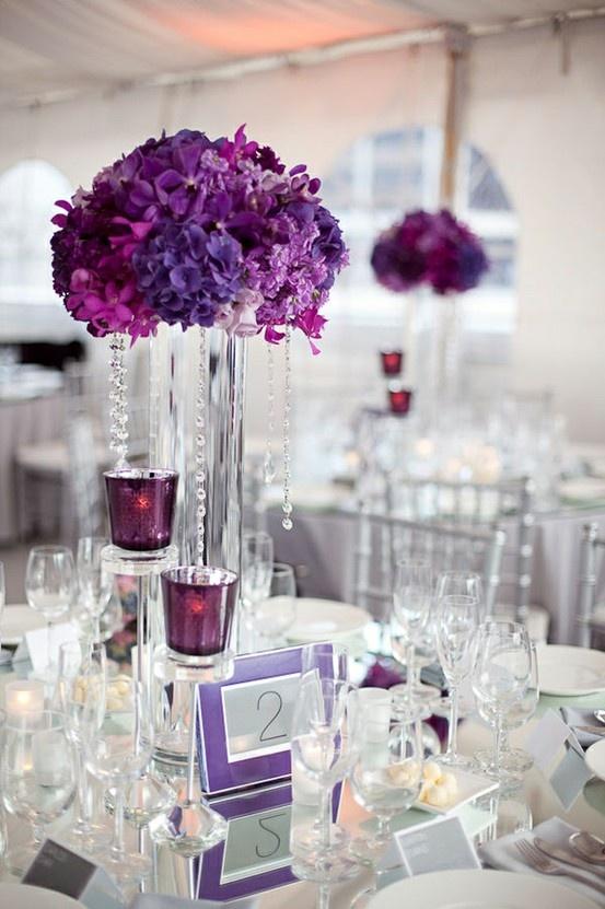 Weddingguide Stylish Purple Decor For Wedding Purple Wedding Ideas